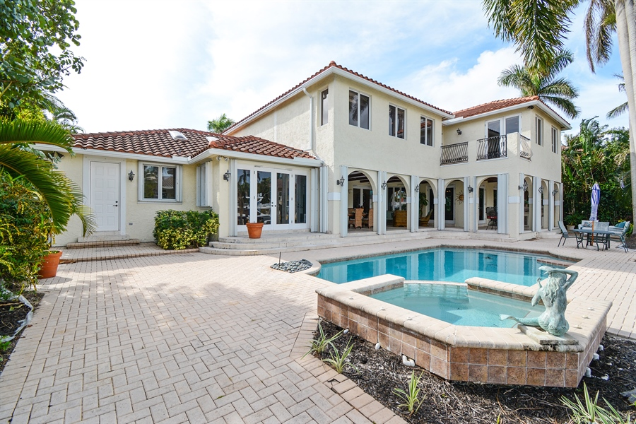 Real Estate Photography - 11 Pelican Dr, Fort Lauderdale, FL, 33301 - Rear View