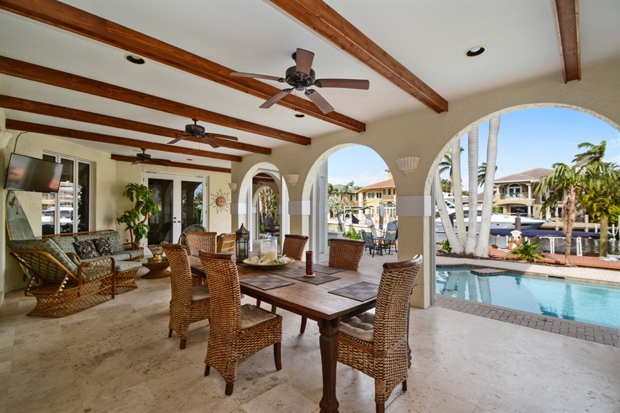 Real Estate Photography - 11 Pelican Dr, Fort Lauderdale, FL, 33301 - Patio