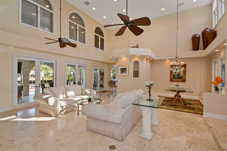 Real Estate Photography - 11 Pelican Dr, Fort Lauderdale, FL, 33301 - Living Room / Dining Room