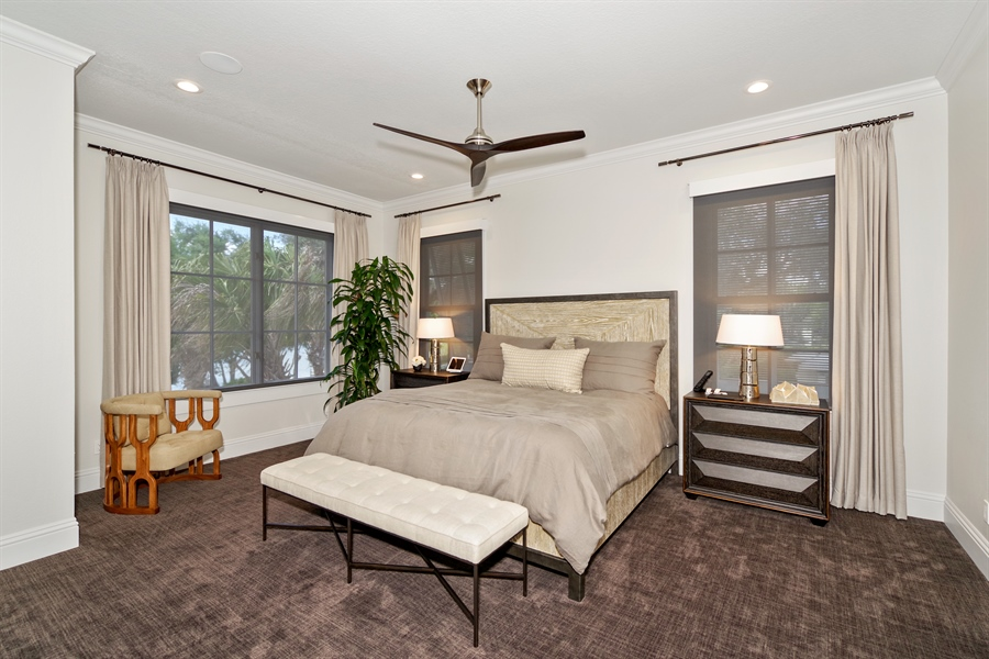 Real Estate Photography - 240 N Lake Sybelia Drive, Maitland, FL, 32751 - Master Bedroom