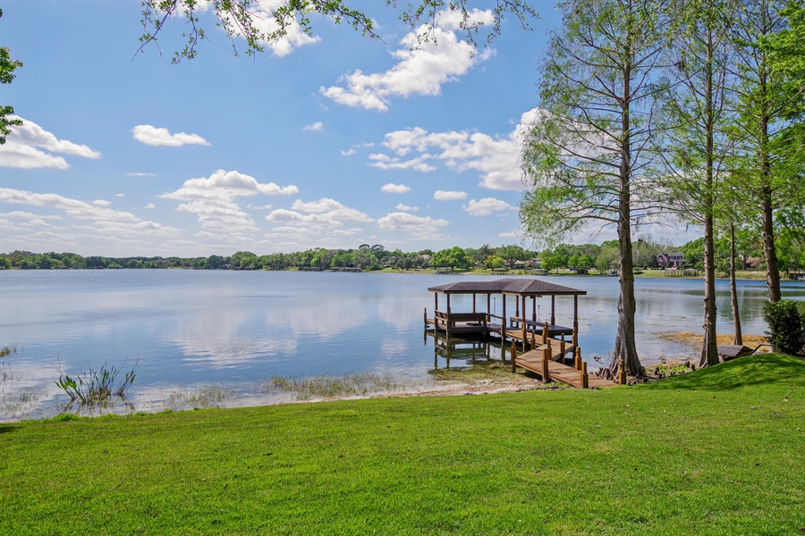 Real Estate Photography - 240 N Lake Sybelia Drive, Maitland, FL, 32751 - Boathouse