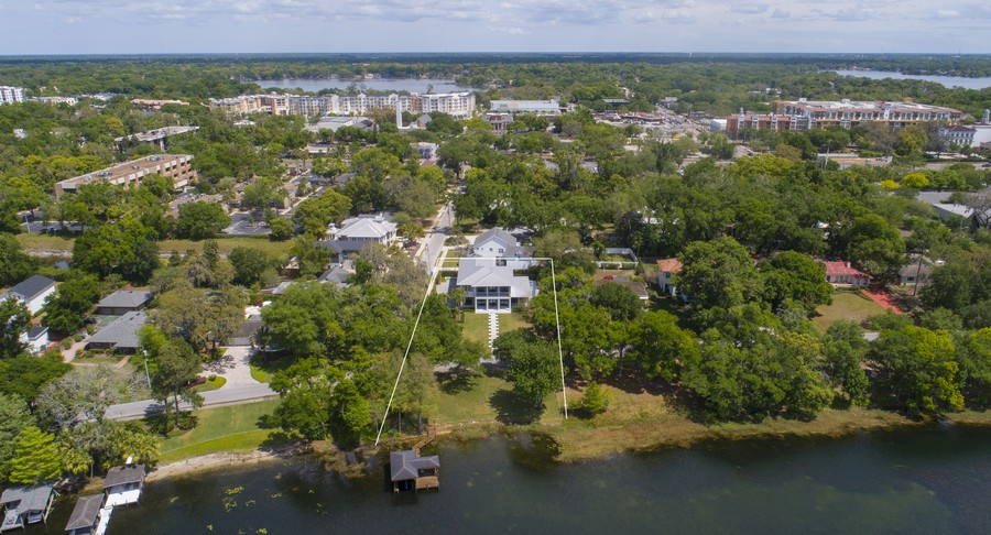 Real Estate Photography - 240 N Lake Sybelia Drive, Maitland, FL, 32751 - Aerial View