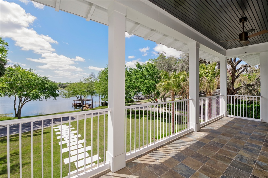 Real Estate Photography - 240 N Lake Sybelia Drive, Maitland, FL, 32751 - Balcony