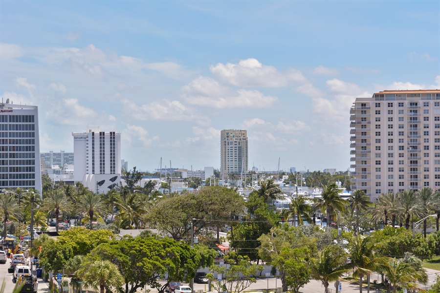 Real Estate Photography - 101 S. FORT LAUDERDALE BEACH BLVD, 607, FORT LAUDERDALE, FL, 33316 - City View