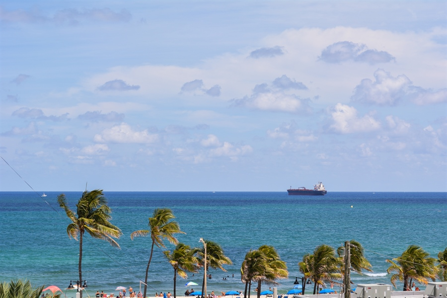 Real Estate Photography - 101 S. FORT LAUDERDALE BEACH BLVD, 607, FORT LAUDERDALE, FL, 33316 - View