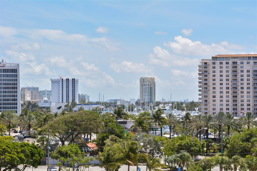 Real Estate Photography - 101 S. FORT LAUDERDALE BEACH BLVD, 607, FORT LAUDERDALE, FL, 33316 - Intracoastal View