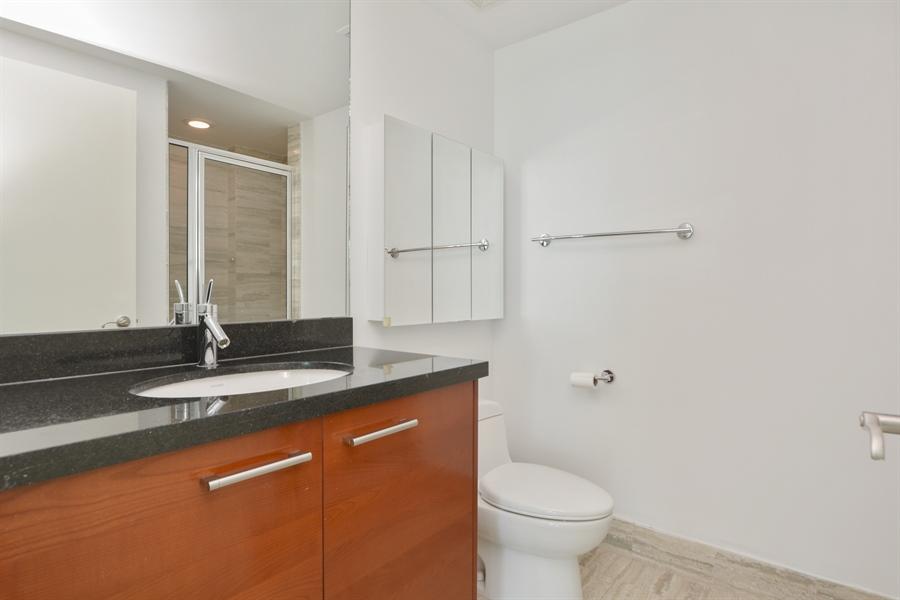 Real Estate Photography - 101 S. FORT LAUDERDALE BEACH BLVD, 607, FORT LAUDERDALE, FL, 33316 - Bathroom