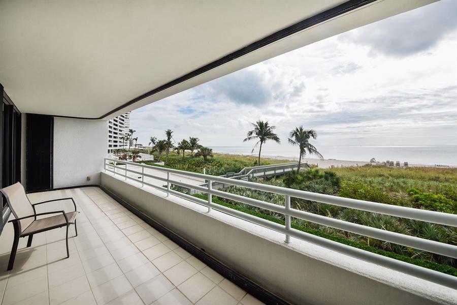 Real Estate Photography - 1500 S Ocean Blvd, Unit S104, Boca Raton, FL, 33432 - Terrace