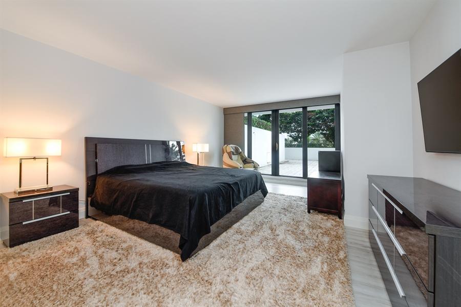Real Estate Photography - 1500 S Ocean Blvd, Unit S104, Boca Raton, FL, 33432 - Master Bedroom