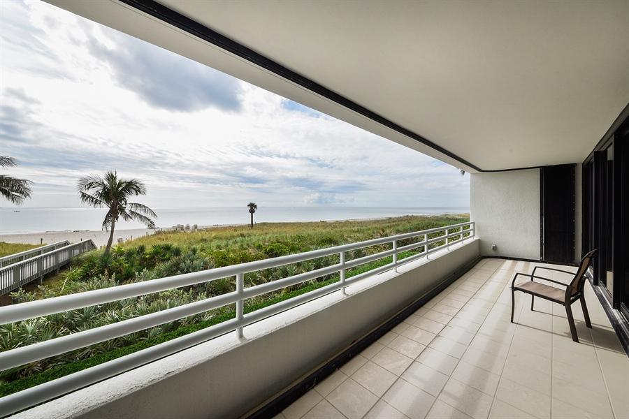 Real Estate Photography - 1500 S Ocean Blvd, Unit S104, Boca Raton, FL, 33432 - Terrace 2