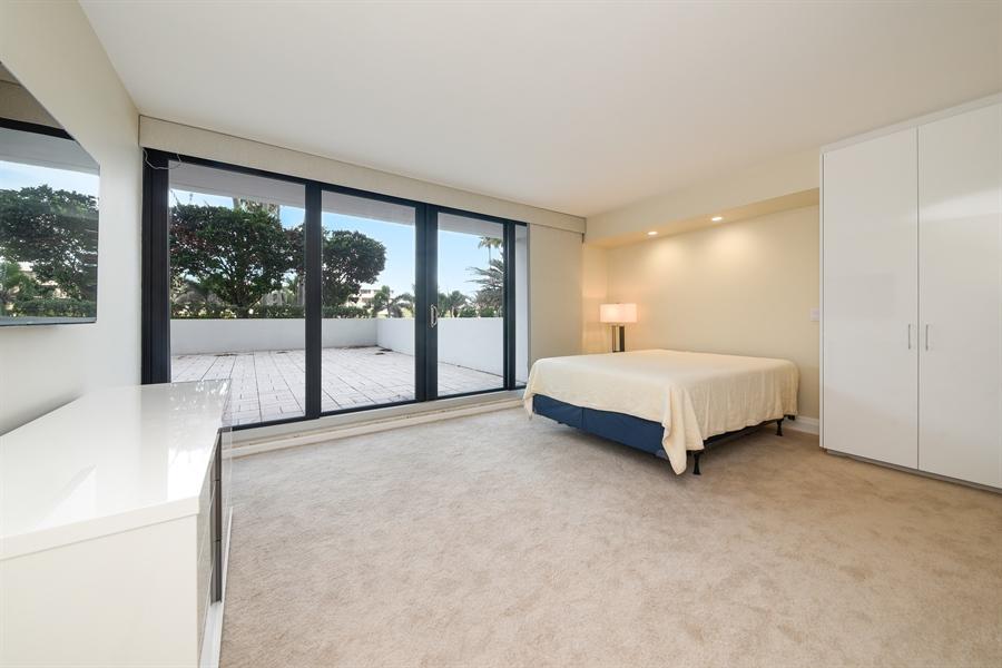 Real Estate Photography - 1500 S Ocean Blvd, Unit S104, Boca Raton, FL, 33432 - Bedroom