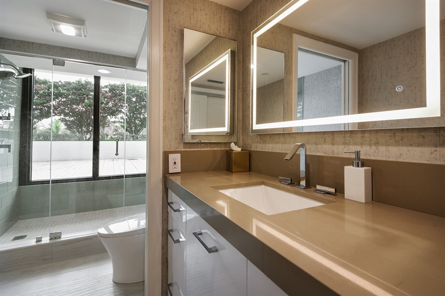 Real Estate Photography - 1500 S Ocean Blvd, Unit S104, Boca Raton, FL, 33432 - Bathroom