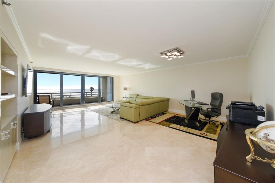 Real Estate Photography - 1500 S Ocean Blvd, Unit S104, Boca Raton, FL, 33432 - Living Room / Dining Room
