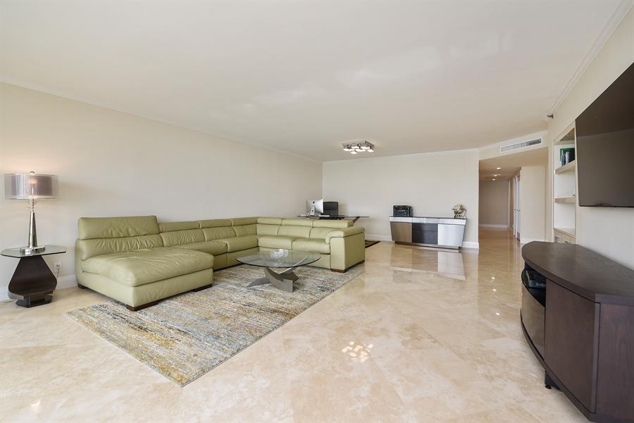 Real Estate Photography - 1500 S Ocean Blvd, Unit S104, Boca Raton, FL, 33432 - Living Room/Dining Room