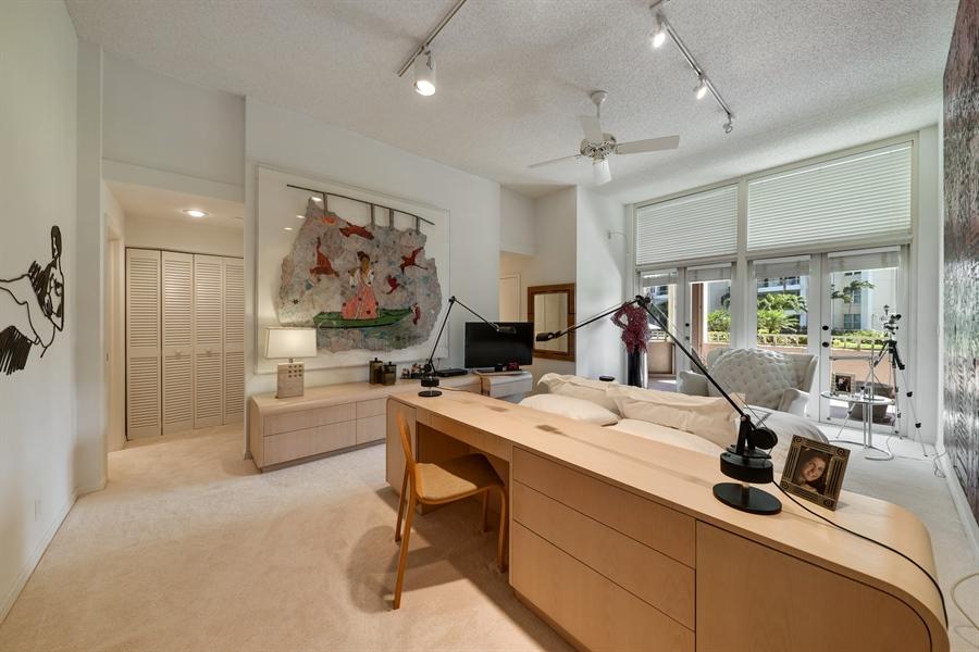 Real Estate Photography - 300 SE 5th Avenue, 1110, Boca Raton, FL, 33432 - Master Bedroom