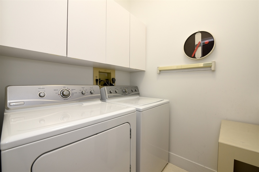 Real Estate Photography - 300 SE 5th Avenue, 1110, Boca Raton, FL, 33432 - Laundry Room