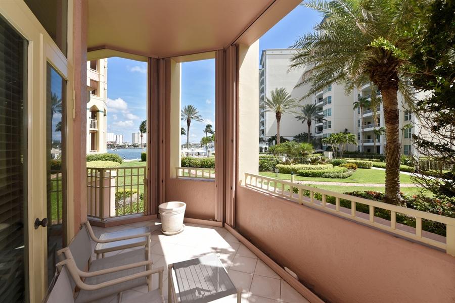 Real Estate Photography - 300 SE 5th Avenue, 1110, Boca Raton, FL, 33432 - Patio
