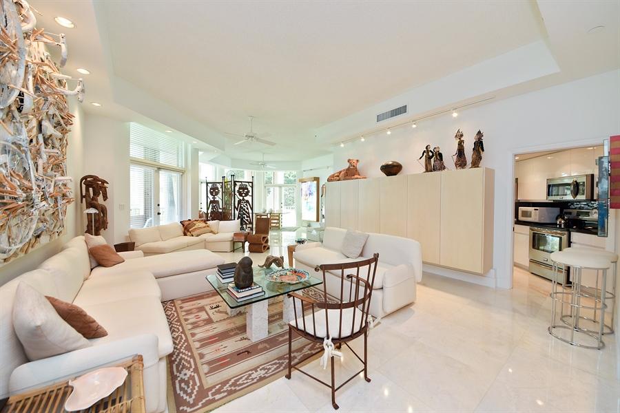 Real Estate Photography - 300 SE 5th Avenue, 1110, Boca Raton, FL, 33432 - Living Room / Dining Room