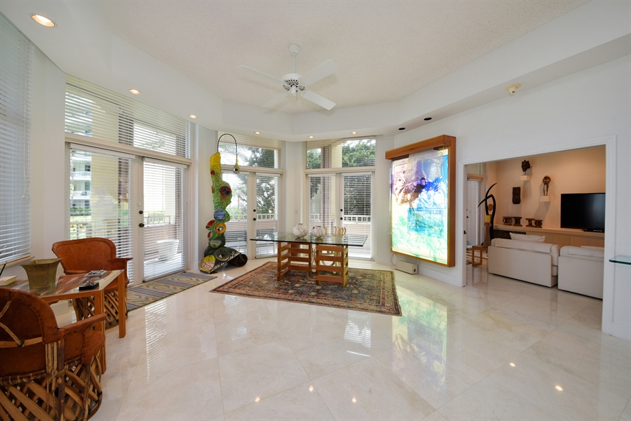 Real Estate Photography - 300 SE 5th Avenue, 1110, Boca Raton, FL, 33432 - Family Room / Dining Room