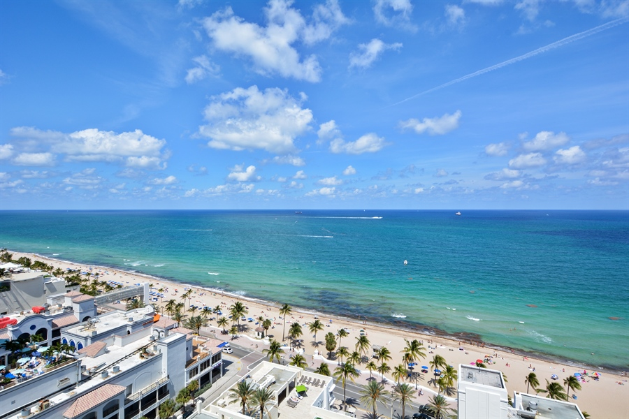 Real Estate Photography - 101 S Fort Lauderdale Beach Blvd, Unit 2002, Fort Lauderdale, FL, 33316 - Ocean View