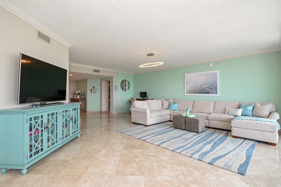 Real Estate Photography - 2845 NE 9th St, unit 1104, Fort Lauderdale, FL, 33304 - Living Room