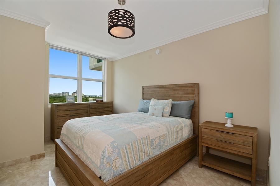 Real Estate Photography - 2845 NE 9th St, unit 1104, Fort Lauderdale, FL, 33304 - 2nd Bedroom
