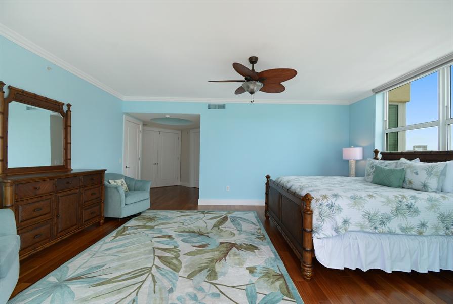 Real Estate Photography - 2845 NE 9th St, unit 1104, Fort Lauderdale, FL, 33304 - Master Bedroom