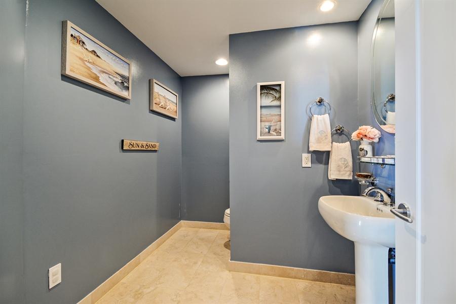 Real Estate Photography - 2845 NE 9th St, unit 1104, Fort Lauderdale, FL, 33304 - Half Bath