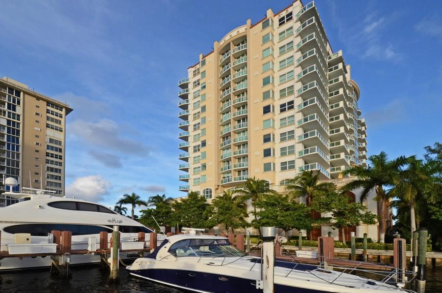 Real Estate Photography - 2845 NE 9th St, unit 1104, Fort Lauderdale, FL, 33304 - Intracoastal Marina