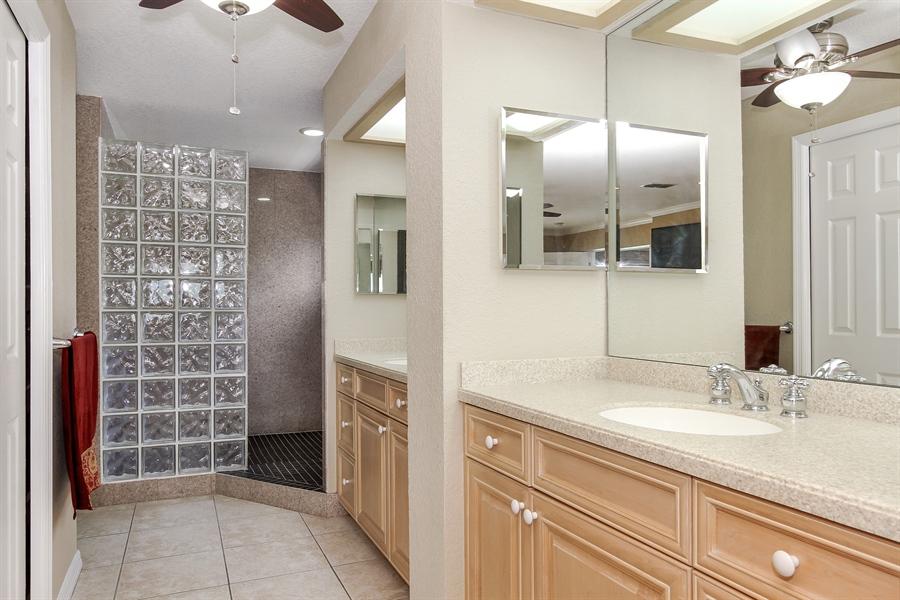 Real Estate Photography - 5717 Westshore Dr, New Port Richey, FL, 34652 - Master Bathroom