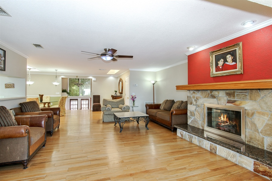Real Estate Photography - 5717 Westshore Dr, New Port Richey, FL, 34652 - Living Room