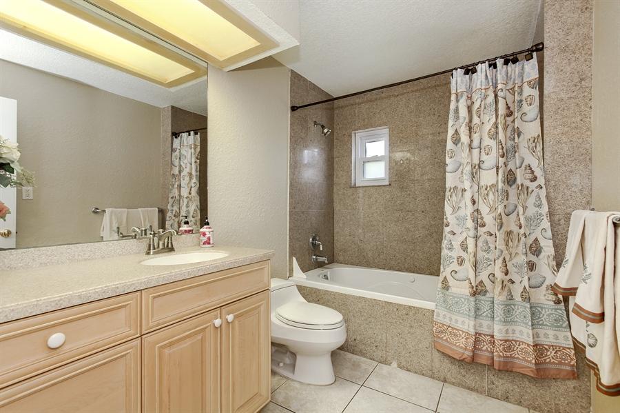 Real Estate Photography - 5717 Westshore Dr, New Port Richey, FL, 34652 - Bathroom