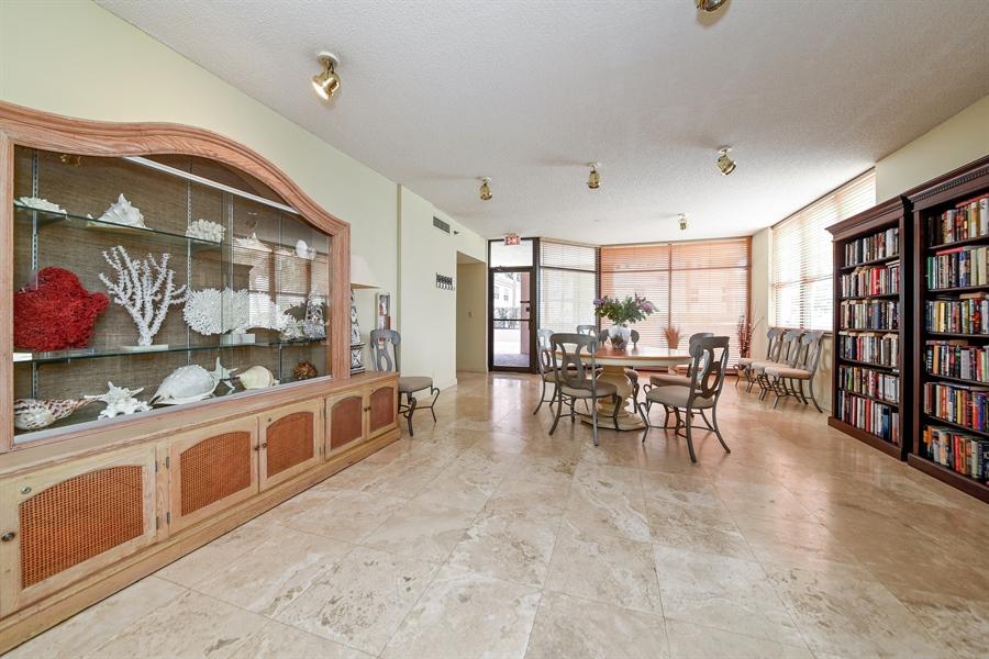 Real Estate Photography - 1155 Hillsboro Mile, 107, Hillsboro Beach, FL, 33062 - Reading Room