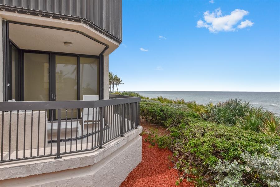 Real Estate Photography - 1155 Hillsboro Mile, 107, Hillsboro Beach, FL, 33062 - Rear View