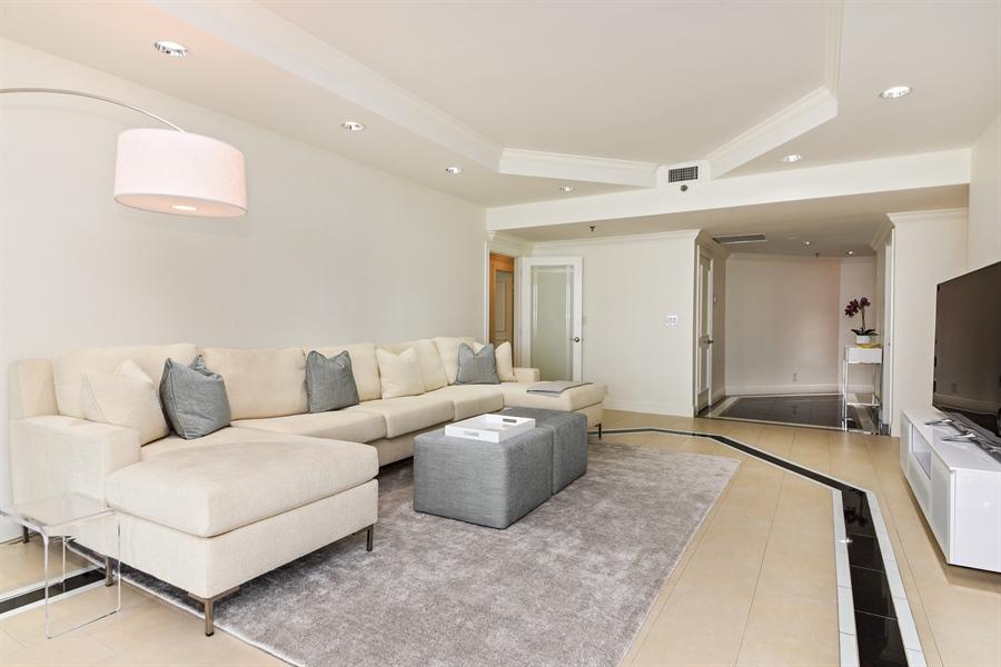 Real Estate Photography - 1155 Hillsboro Mile, 108, Hillsboro Beach, FL, 33062 - Living Room