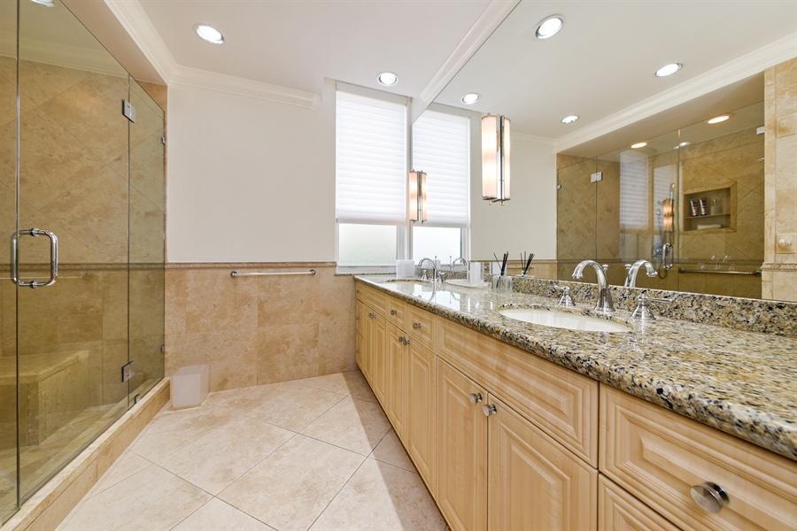Real Estate Photography - 1155 Hillsboro Mile, 108, Hillsboro Beach, FL, 33062 - Master Bathroom