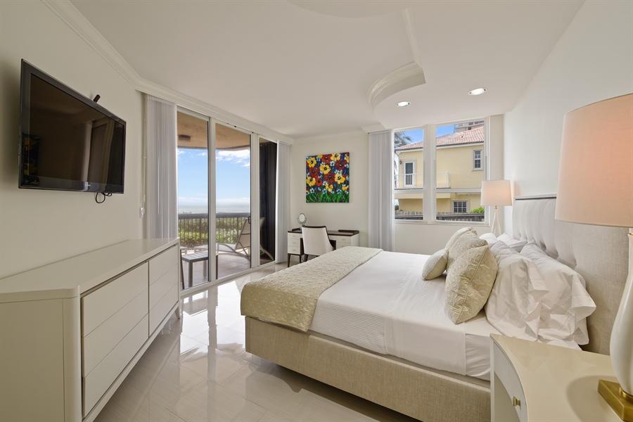 Real Estate Photography - 1155 Hillsboro Mile, 108, Hillsboro Beach, FL, 33062 - Master Bedroom