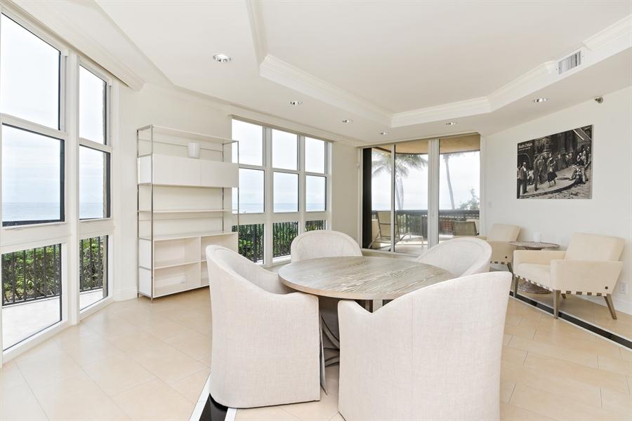 Real Estate Photography - 1155 Hillsboro Mile, 108, Hillsboro Beach, FL, 33062 - Dining Room