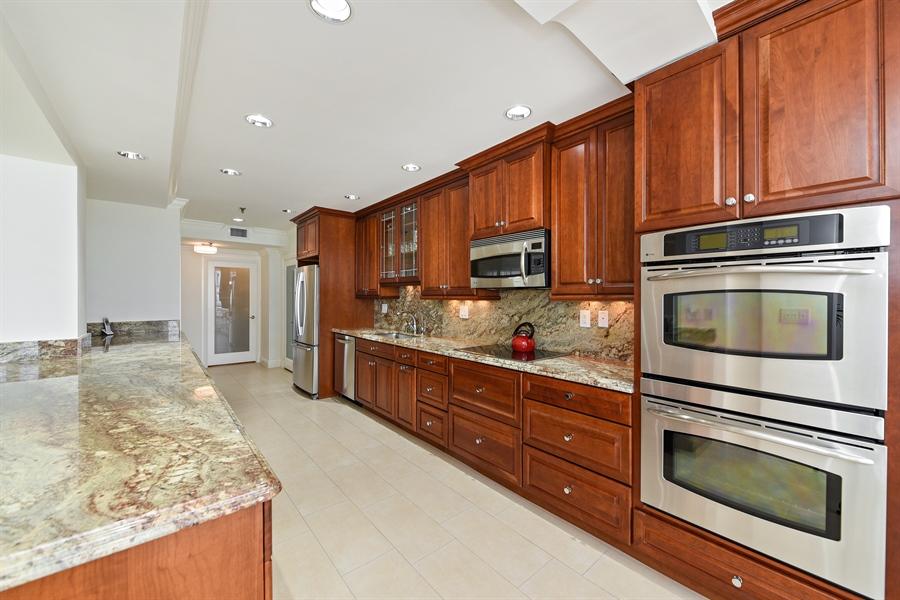 Real Estate Photography - 1155 Hillsboro Mile, 108, Hillsboro Beach, FL, 33062 - Kitchen