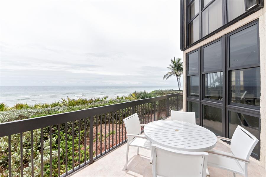Real Estate Photography - 1155 Hillsboro Mile, 108, Hillsboro Beach, FL, 33062 - Patio