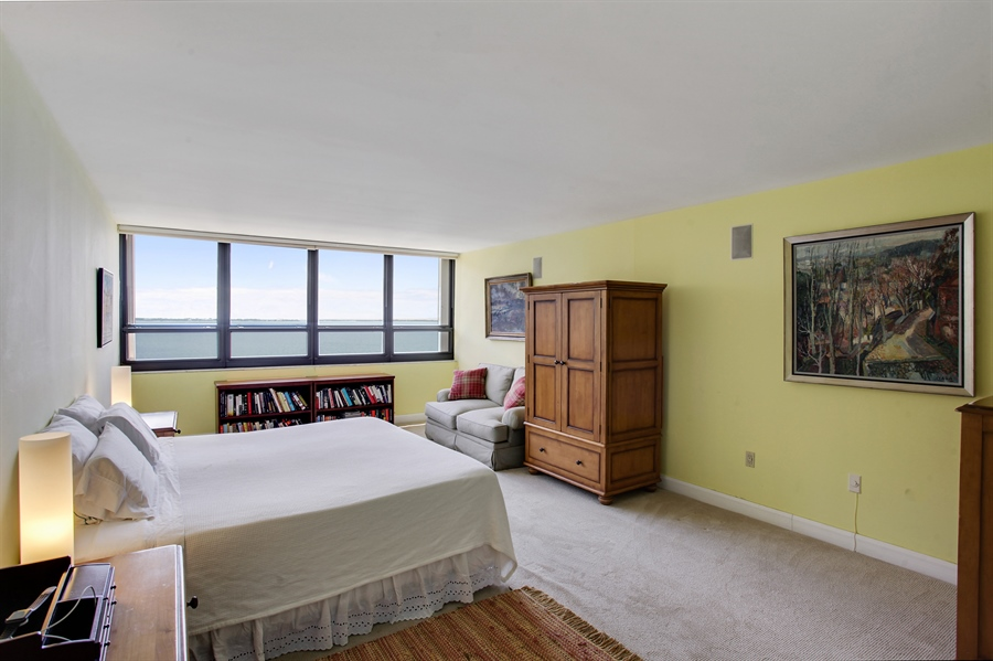 Real Estate Photography - 1 Grove Isle Dr, A1207, Coconut Grove, FL, 33133 - Master Bedroom