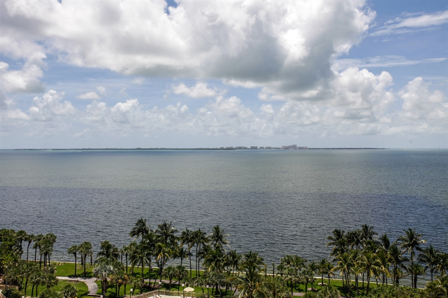 Real Estate Photography - 1 Grove Isle Dr, A1207, Coconut Grove, FL, 33133 - View