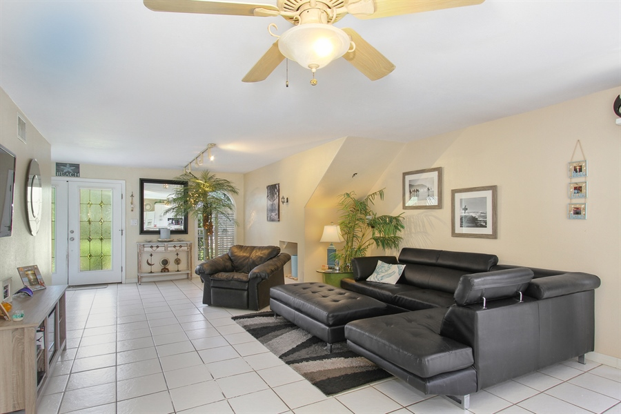 Real Estate Photography - 1811 Gulf Blvd, Indian Rocks Beach, FL, 33785 - Living Room