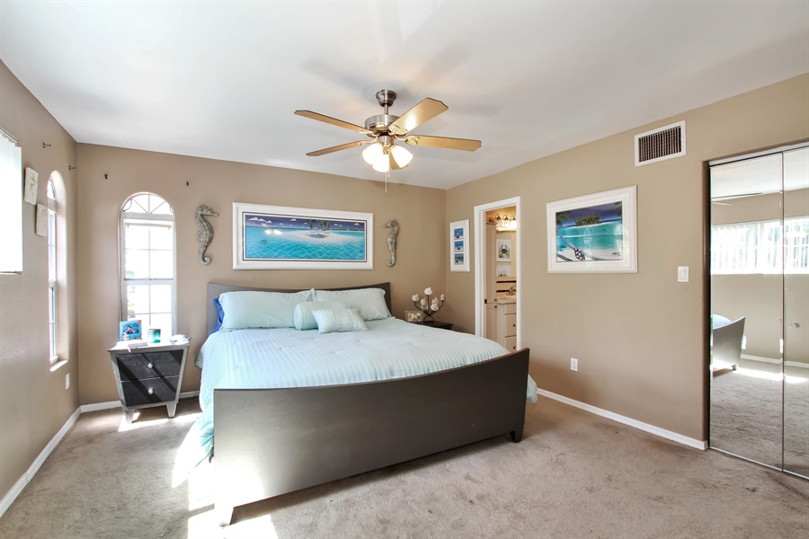 Real Estate Photography - 1811 Gulf Blvd, Indian Rocks Beach, FL, 33785 - Master Bedroom