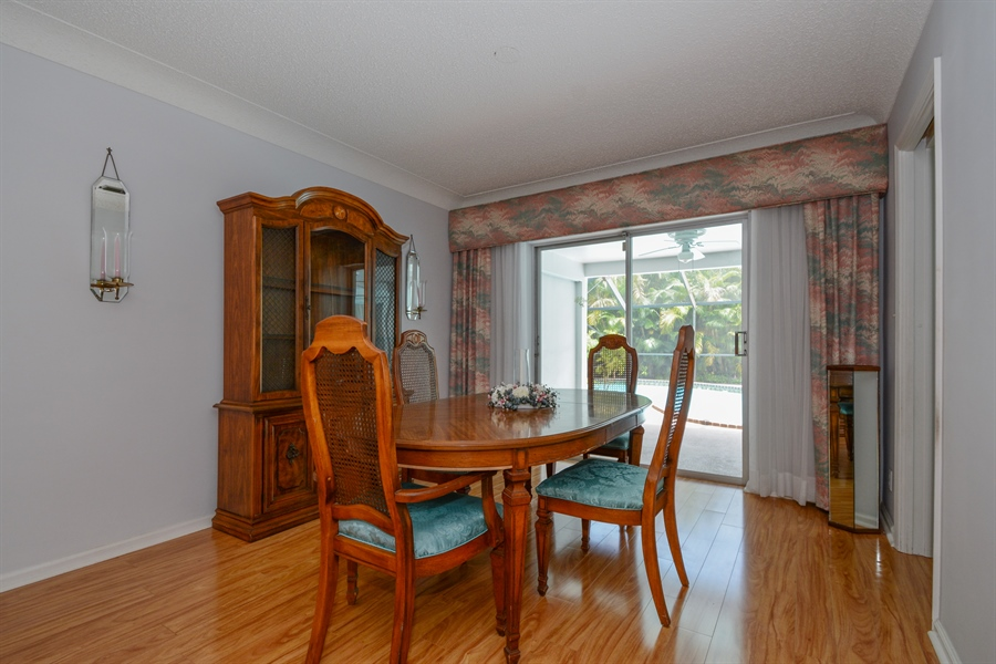 Real Estate Photography - 1000 NW 6th Ter, Boca Raton, FL, 33486 - Dining Room