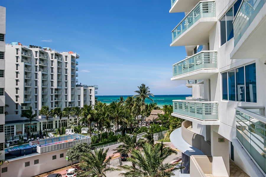 Real Estate Photography - 3801 Collins Ave, Unit 501, Miami Beach, FL, 33140 - View