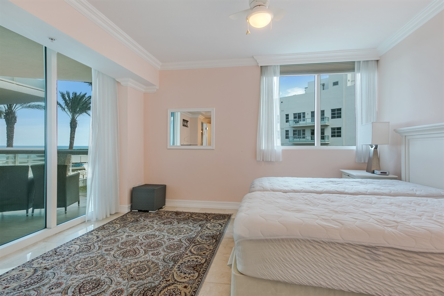 Real Estate Photography - 3801 Collins Ave, Unit 501, Miami Beach, FL, 33140 - 3rd Bedroom