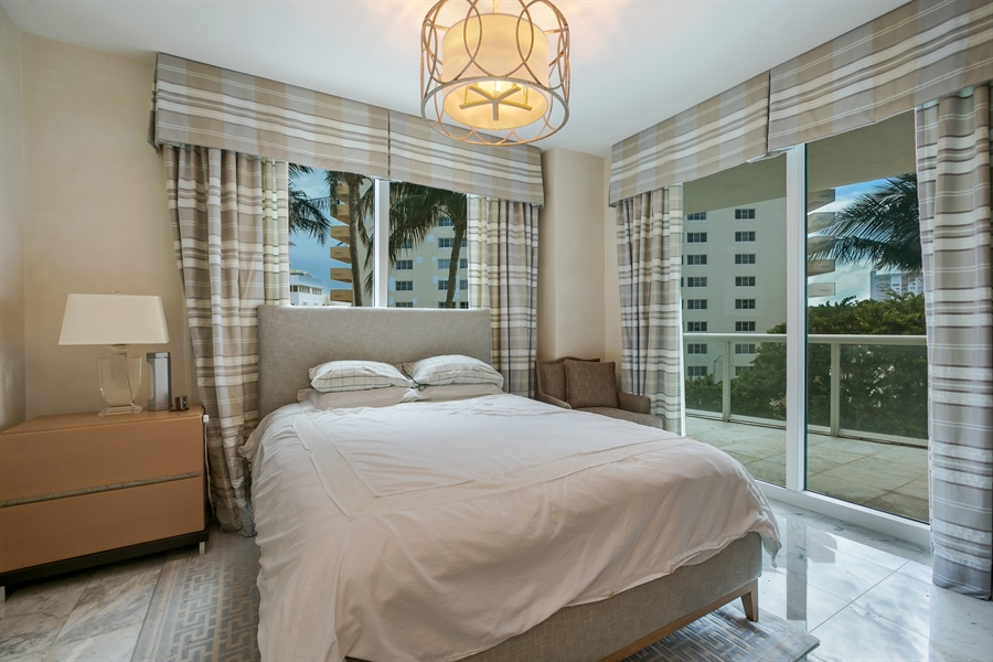 Real Estate Photography - 3801 Collins Ave, Unit 501, Miami Beach, FL, 33140 - 5th Bedroom