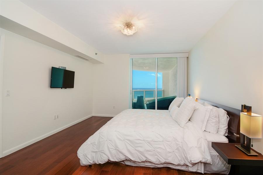 Real Estate Photography - 101 S. FORT LAUDERDALE BEACH BLVD, 2202, FORT LAUDERDALE, FL, 33316 - Master Bedroom