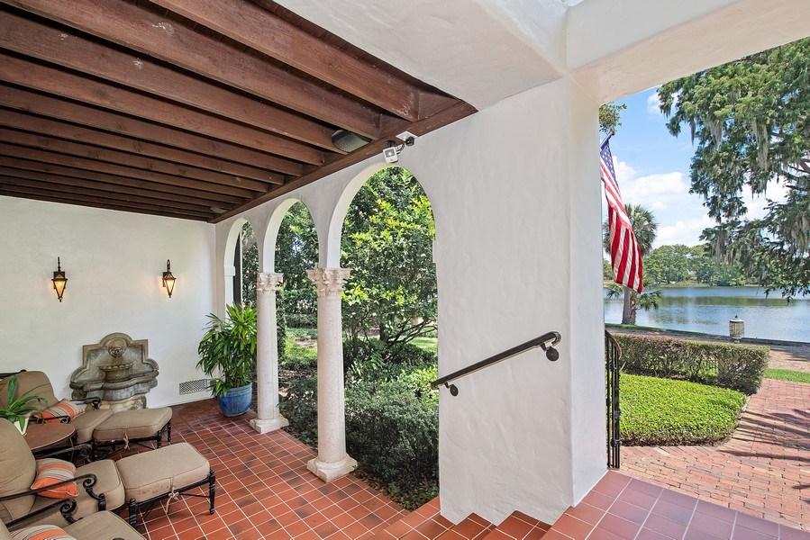 Real Estate Photography - 900 S. Lake Adair Blvd., ORLANDO, FL, 32804 - Front Porch